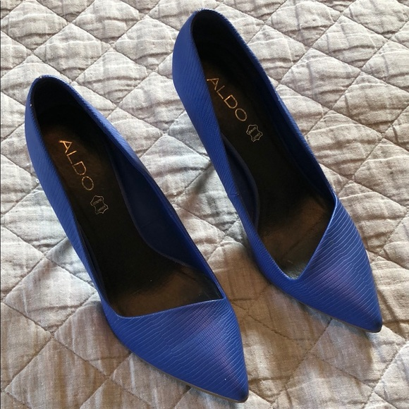 Aldo Shoes - Aldo Blue Pumps
